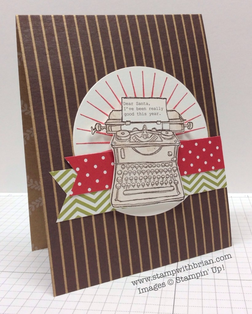 Tap Tap Tap, Kinda Eclectic, For All Things, Stampin' Up!, Brian King, FMS146
