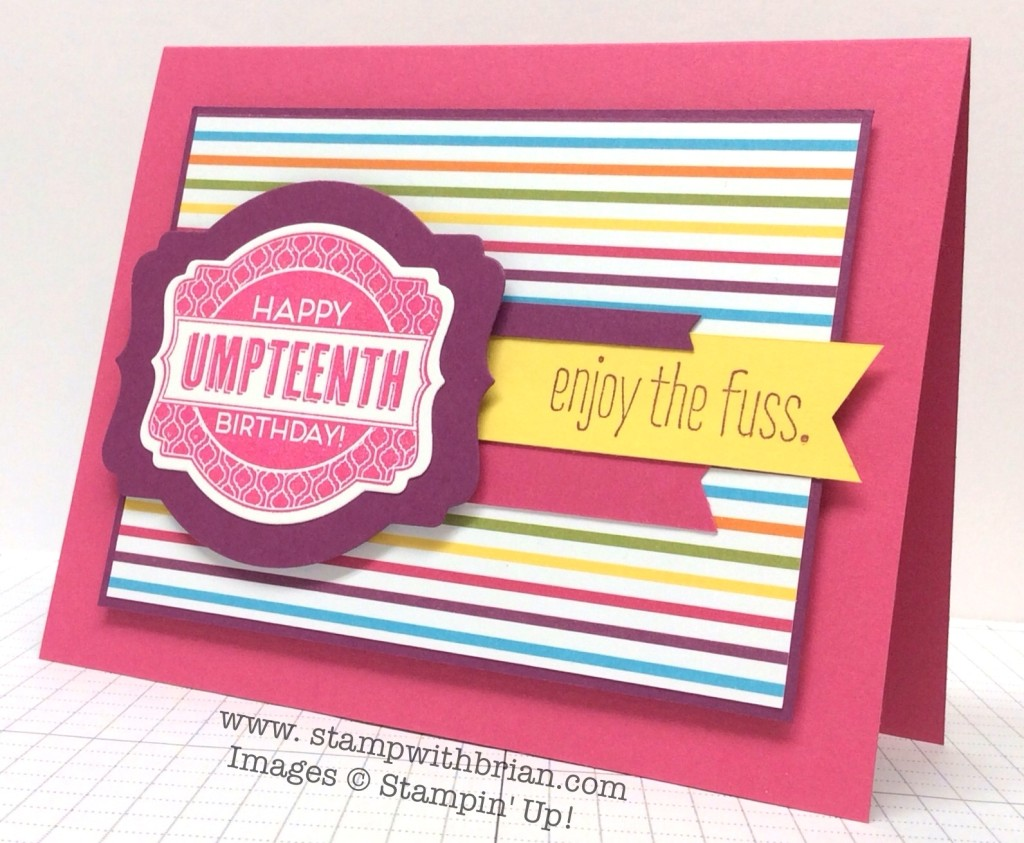 Oh My Goodies, Good News, Stampin' Up!, Brian King, PP206