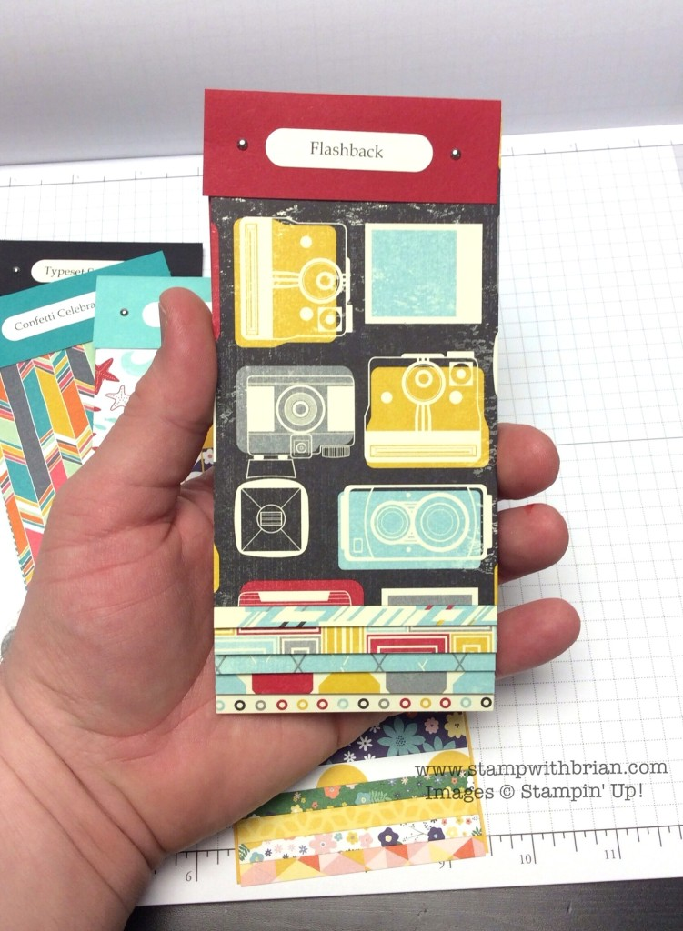 Designer Series Swatch Books, Stampin' Up!, Brian King