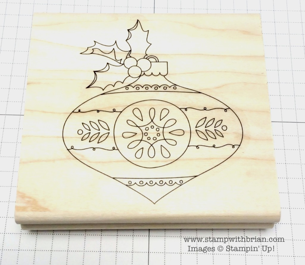 Christmas Bauble, Stampin' Up!, Brian King