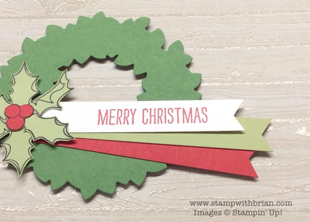 Christmas Bauble, Making Spirits Bright, Hardwood, Stampin' Up!, Brian King, MM