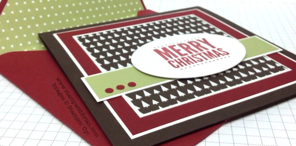 Merry Everything, Stampin' Up!, Brian King