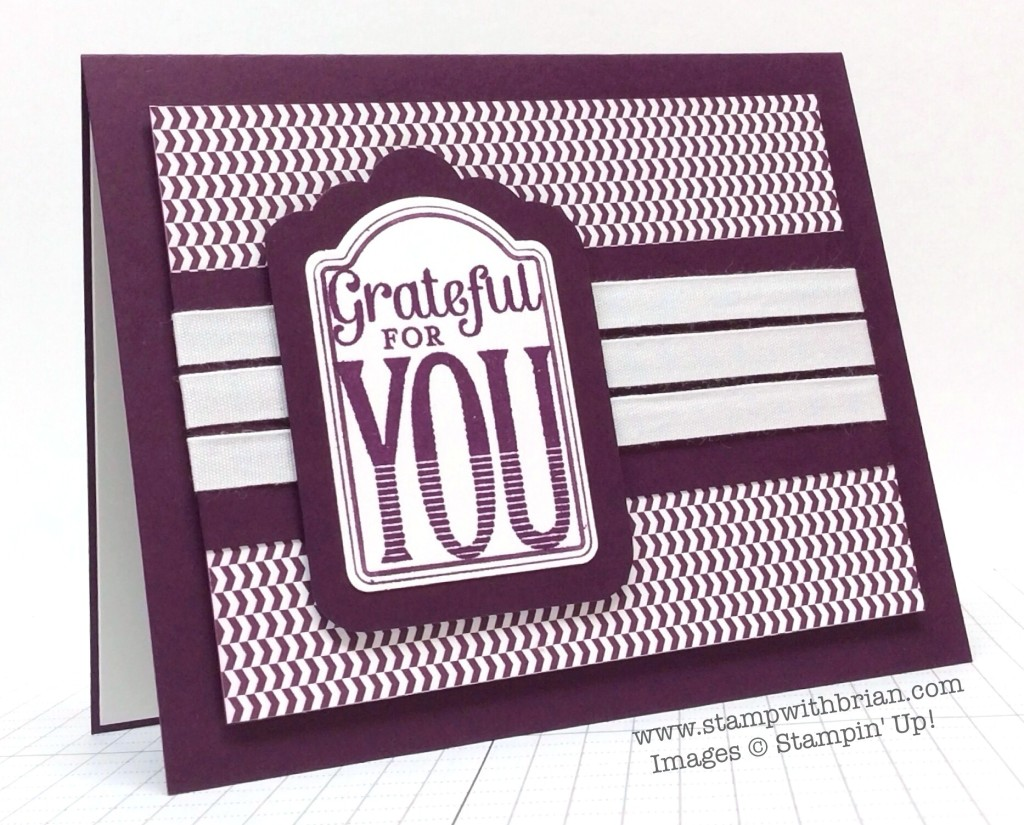 Merry Everything, Stampin' Up!, Brian King, PP211