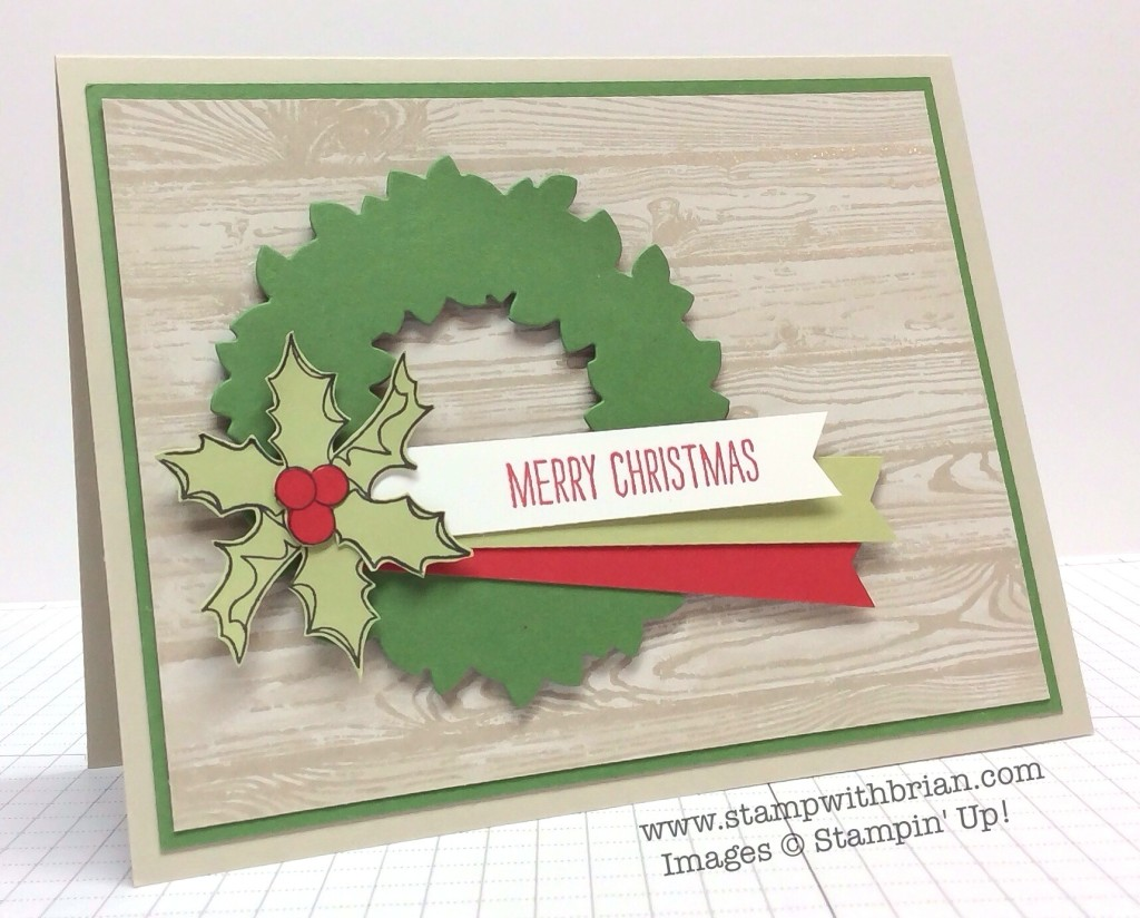 Christmas Bauble, Making Spirits Bright, Stampin' Up!, Brian King, MM