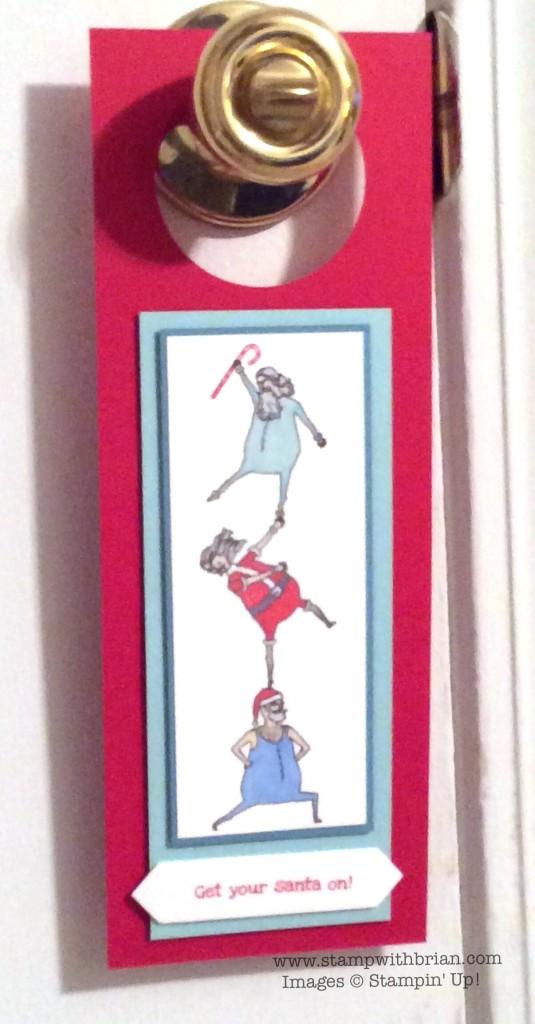 Santa & Co., Get Your Santa On, Stampin' Up!, Brian King