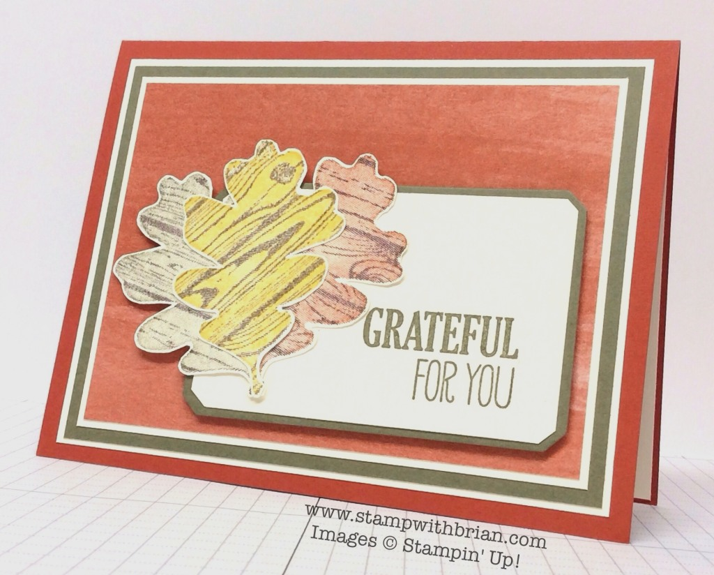 For All Things, Stampin' Up!, Brian King, PPA219
