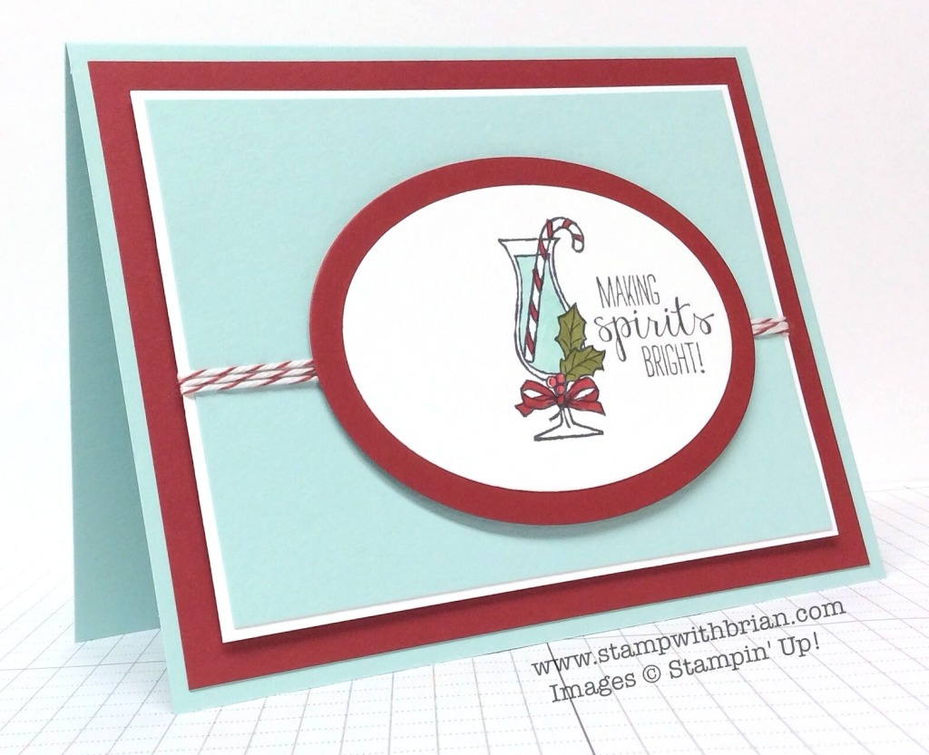 Making Spirits Bright, Stampin' Up!, Founder's Circle Swap, Brian King