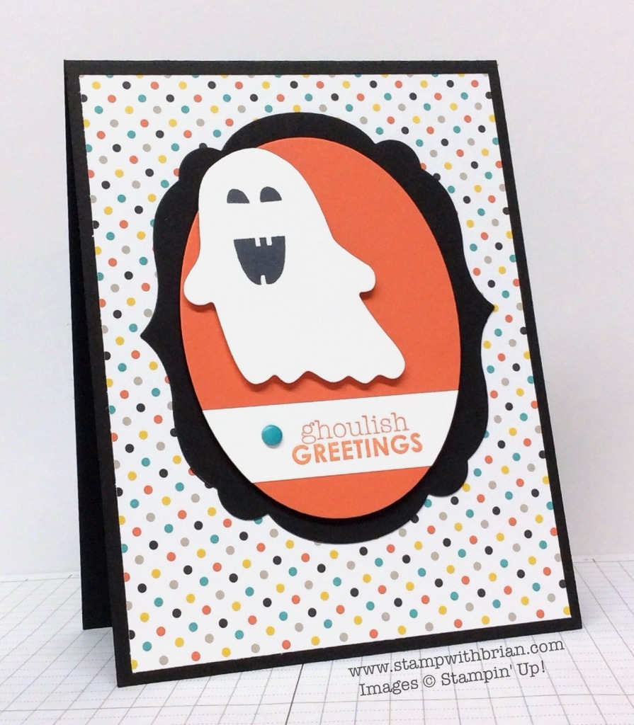 Fall Fest, Ghoulish Greetings, Stampin' Up!, Brian King, FM177