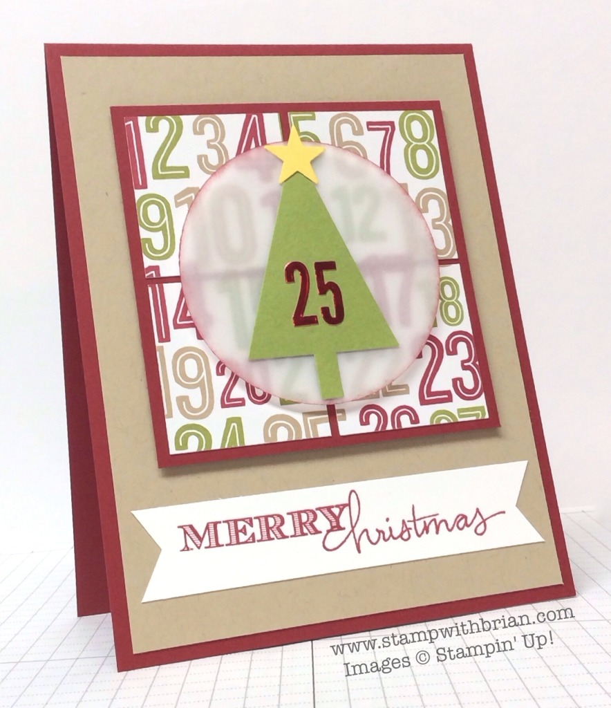 Holiday Invitation, Endless Wishes, Stampin' Up!, Brian King, PPA221
