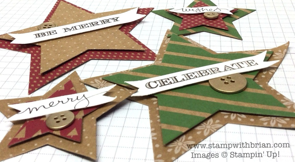 Holiday Invitation, Good Greetings, Stampin' UP!, Brian King