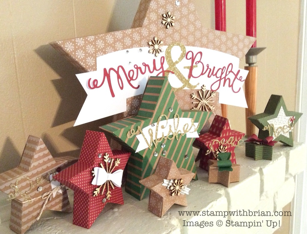 Many Merry Stars Kit, Stampin' Up!, Brian King