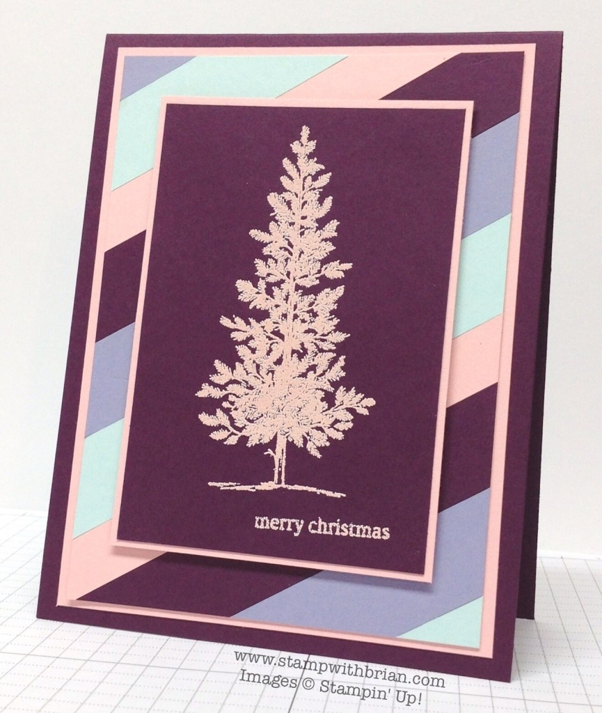 Lovely as a Tree, Holiday Home, Stampin' Up!, Brian King, MM131