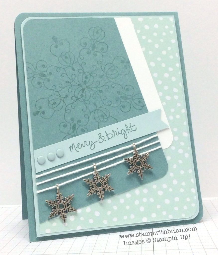 Good Greetings, Holiday Invitation, Stampin' Up!, Brian King, PPA225