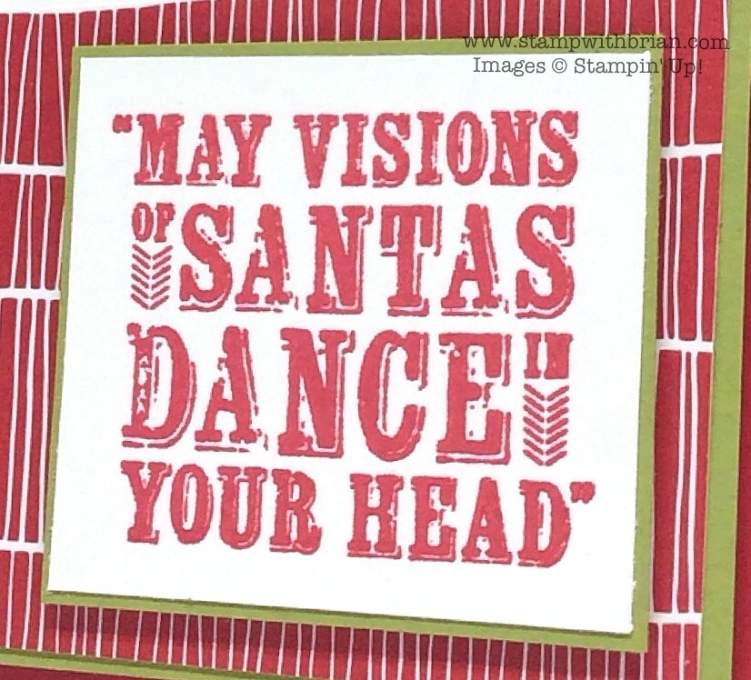 Visions of Santa, Stampin' Up!, Brian King
