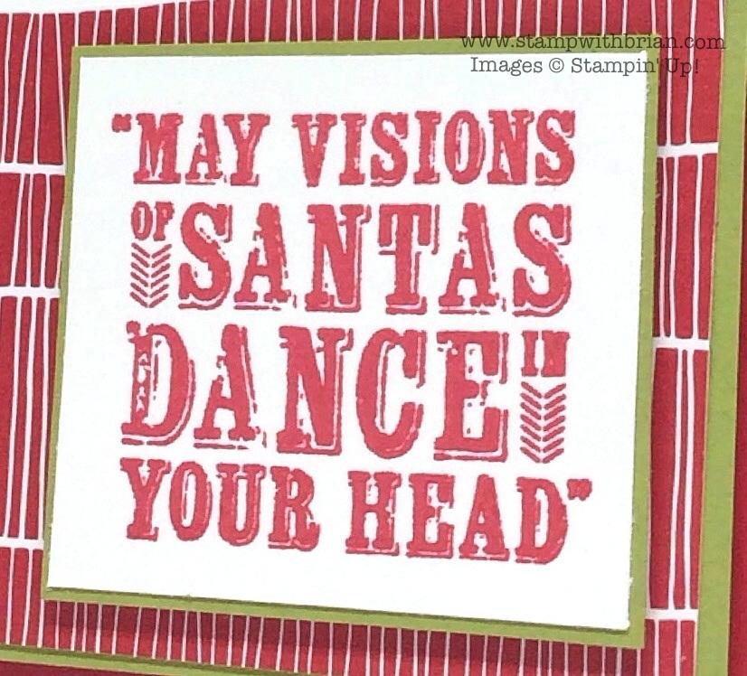 Visions of Santa, Stampin' Up!, Brian King
