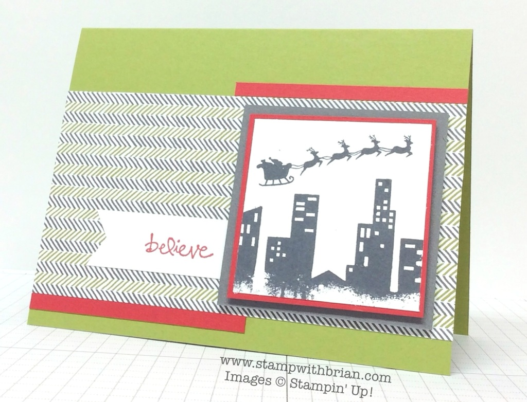 Calling All Heroes, Holiday Home, Good Greetings, Stampin' Up!, Brian King, FabFri53