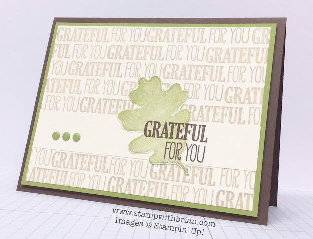 For All Things, Stampin' Up!, Brian King