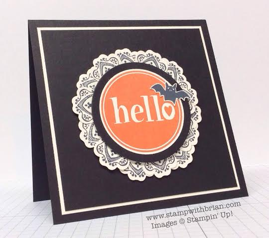 #Hello, Freaky Friends, Mixed Bunch, Stampin' Up!, Brian King, PPA223