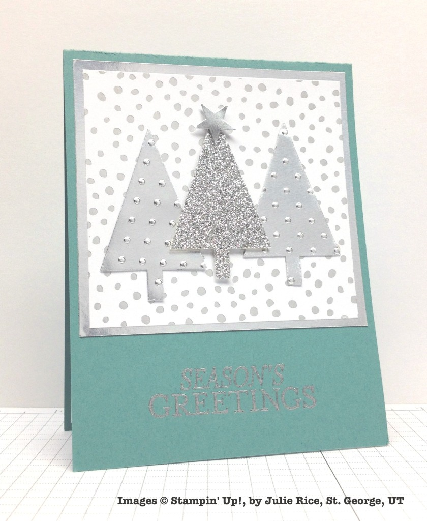 Holiday One-for-One Swaps, Stampin' Up!, by Julie Rice