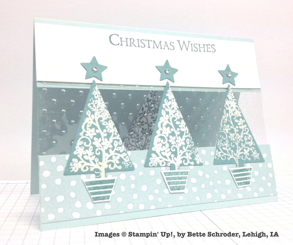 Holiday One-for-One Swaps, Stampin' Up!, by Bette Schroder