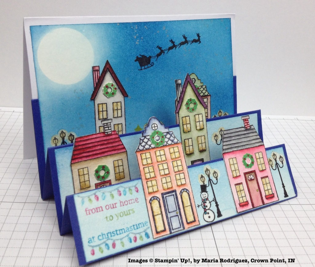 Holiday One-for-One Card Swap, Stampin' Up!, by Maria Rodriguez