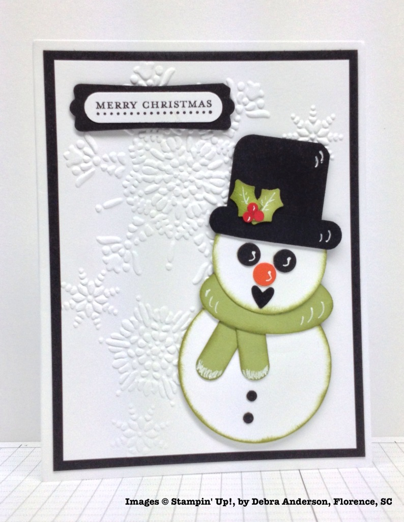 Holiday One-for-One Swaps, Stampin' Up!, by Debra Anderson