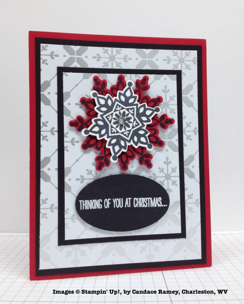Holiday One-for-One Swap, Stampin' Up!, by Candace Ramey