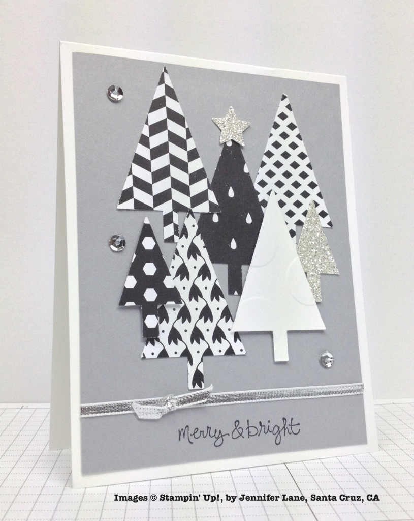 Holiday One-for-One Swap, Stampin' Up!, by Jennifer Lane