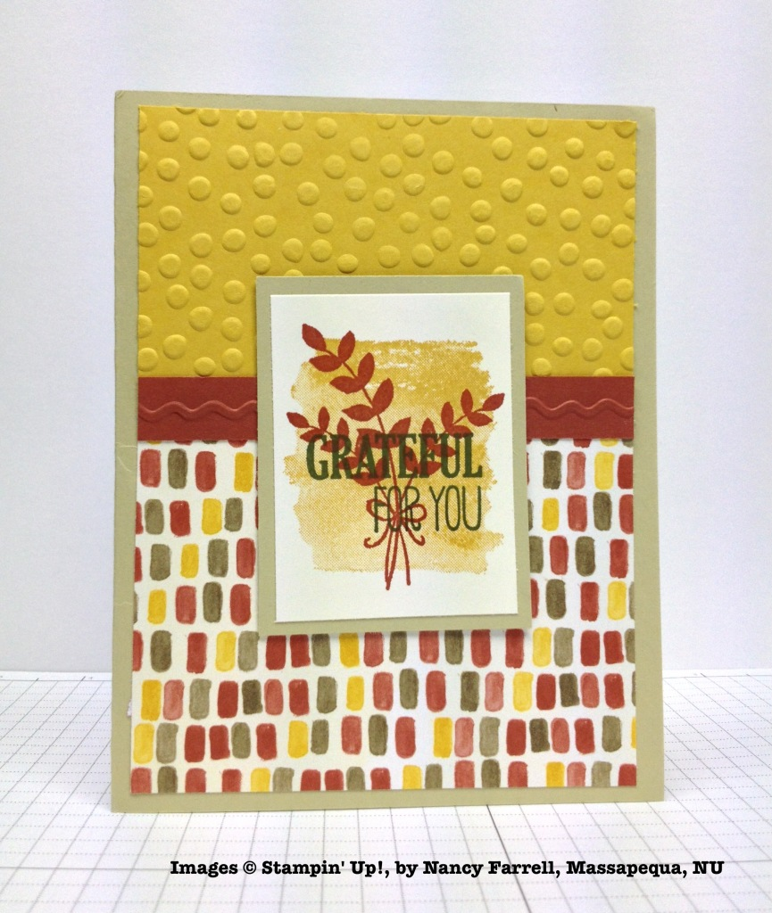 Holiday One-for-One Swap, Stampin' Up!, by Nancy Farrell
