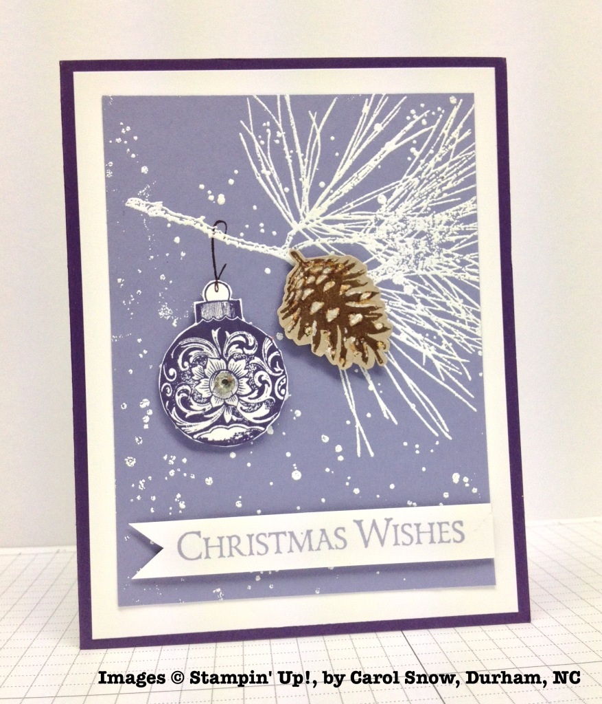 Holiday One-for-One Swap, Stampin' Up!, by Carol Snow