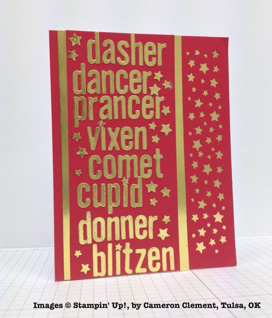 Holiday One-for-One Swap, Stampin' Up!, by Cameron Clement