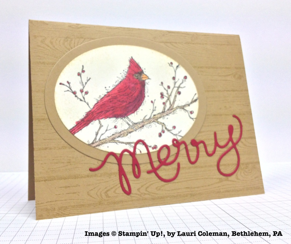 Holiday One-for-One Swap, Stampin' Up!, by Lauri Coleman