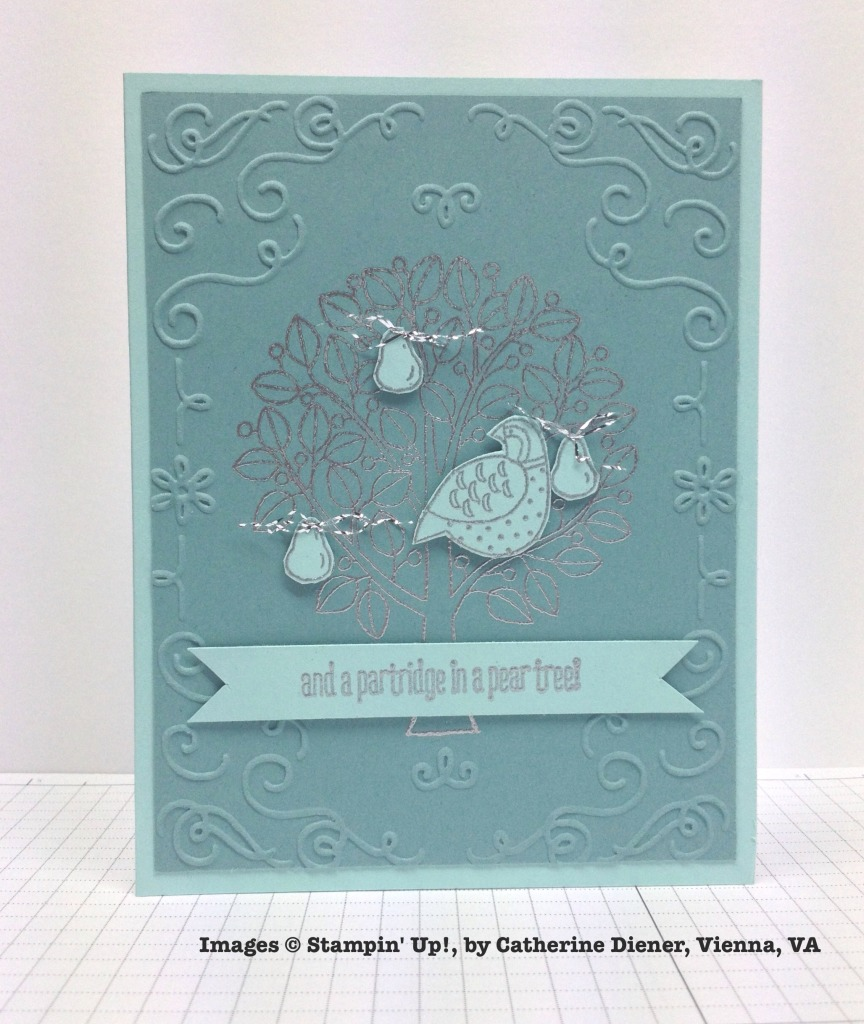 Holiday One-for-One Swap, Stampin' Up!, by Catherine Diener