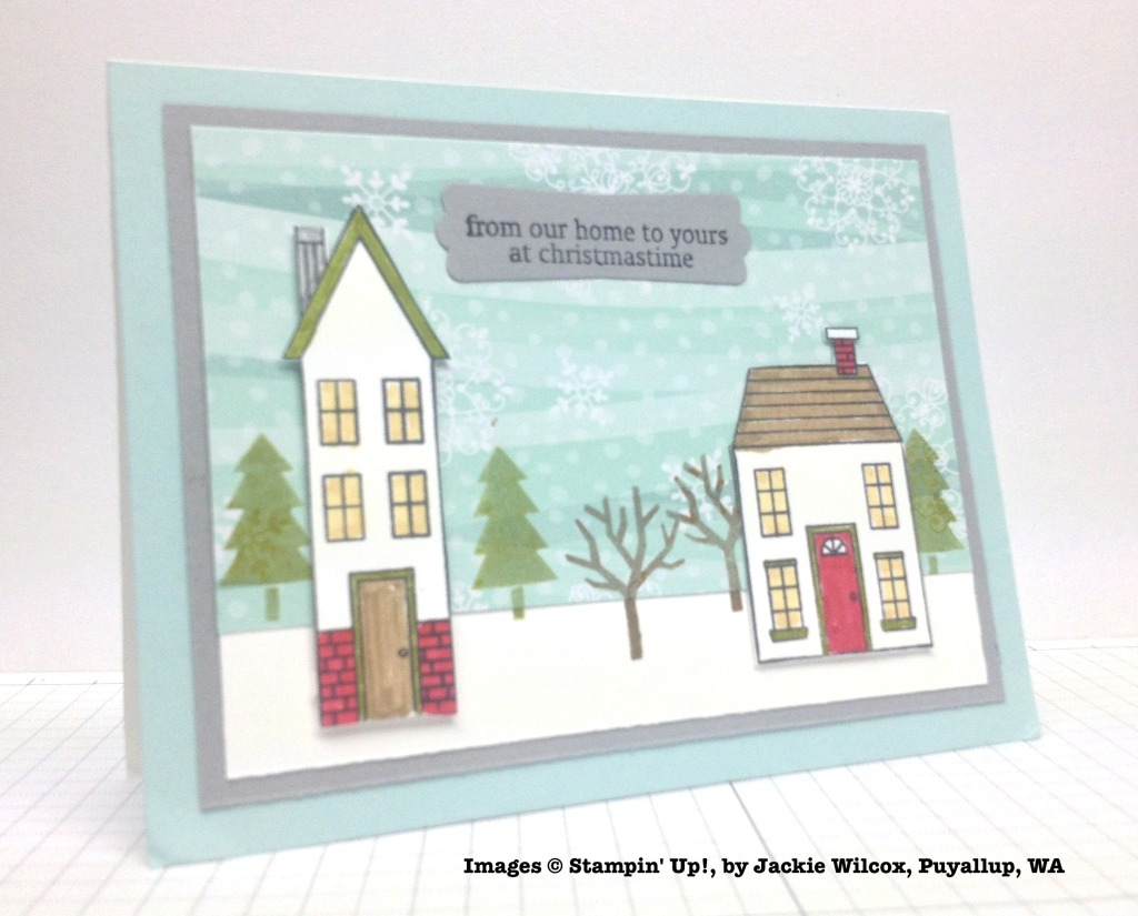 Holiday One-for-One Swaps, Stampin' Up!, by Jackie Wilcox