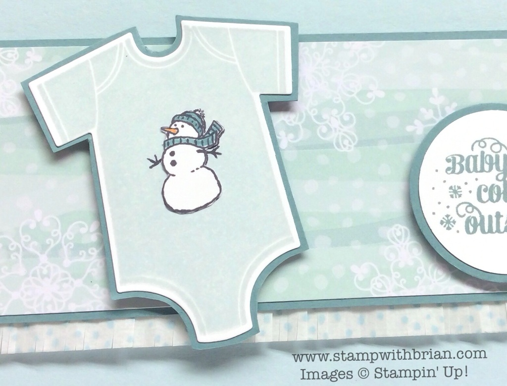 Something for Baby, White Christmas, Project Life Holiday Cheer, Stampin' Up!, Brian King, CYCI47