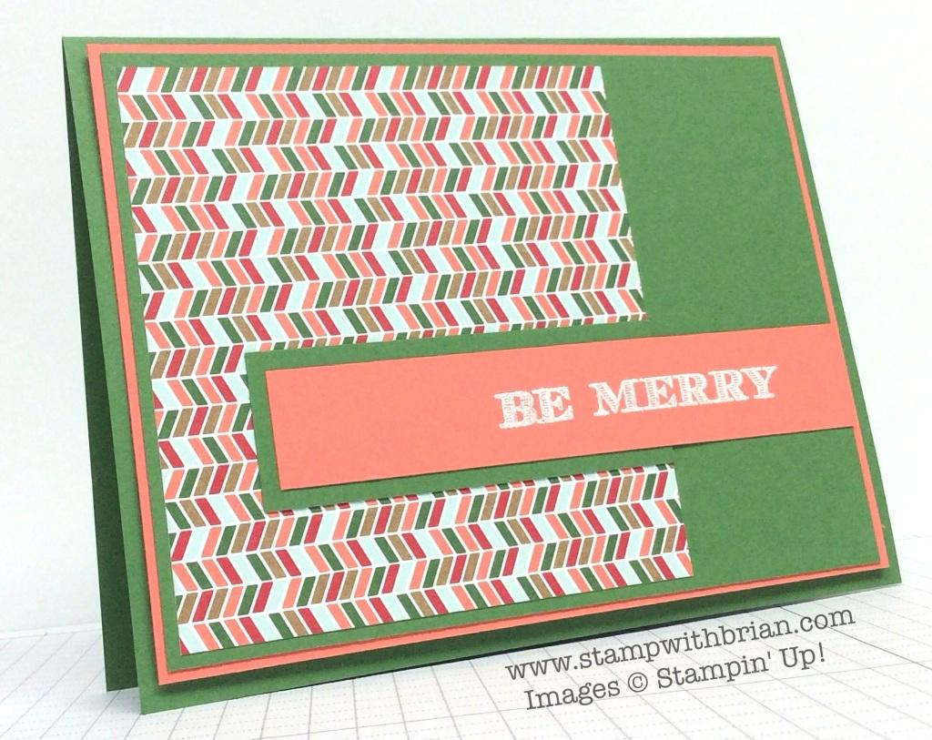Holiday Invitation, Stampin' Up!, Brian King, PPA228