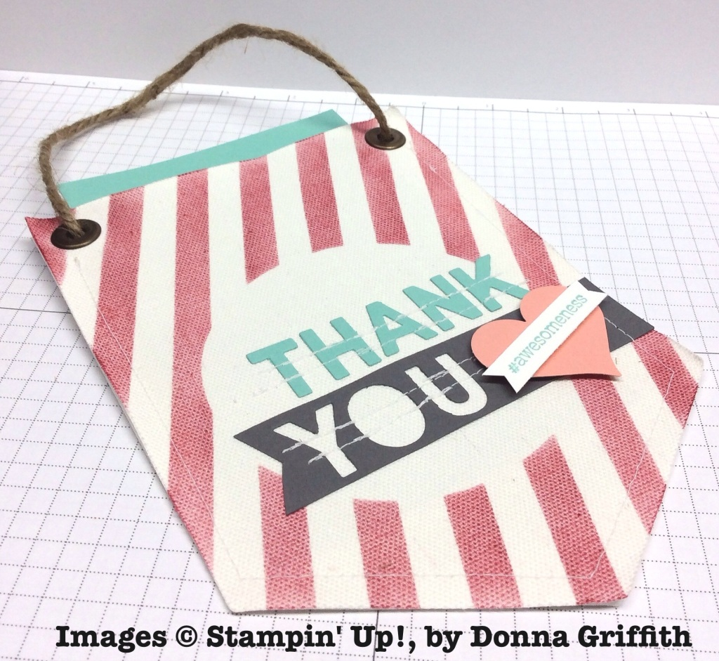 Build a Banner Simply Created Kit, Stampin' Up!, by Donna Griffith