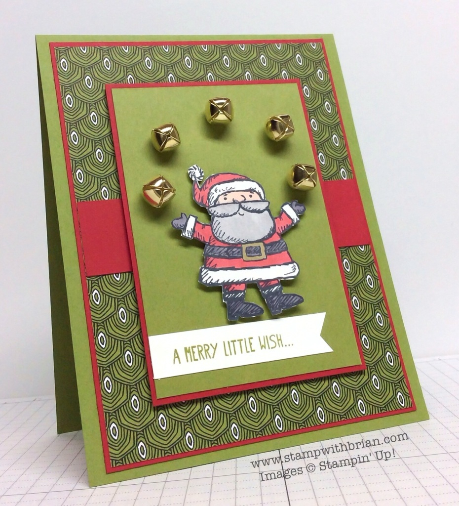 Get Your Santa On, Stampin' Up!, Brian King, MM135