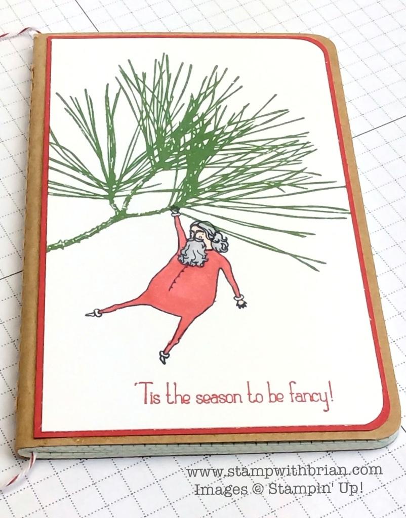 Ornamental Pine, Visions of Santa, Stampin' Up!, Brian King