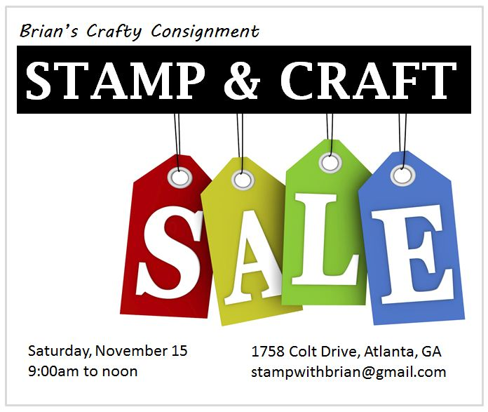 stamp sale flyer