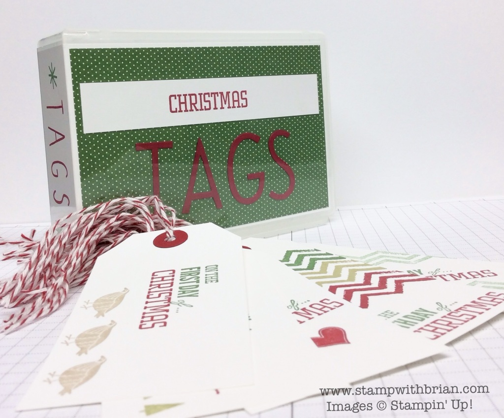 12 Days of Christmas, Stampin' Up!, Brian King