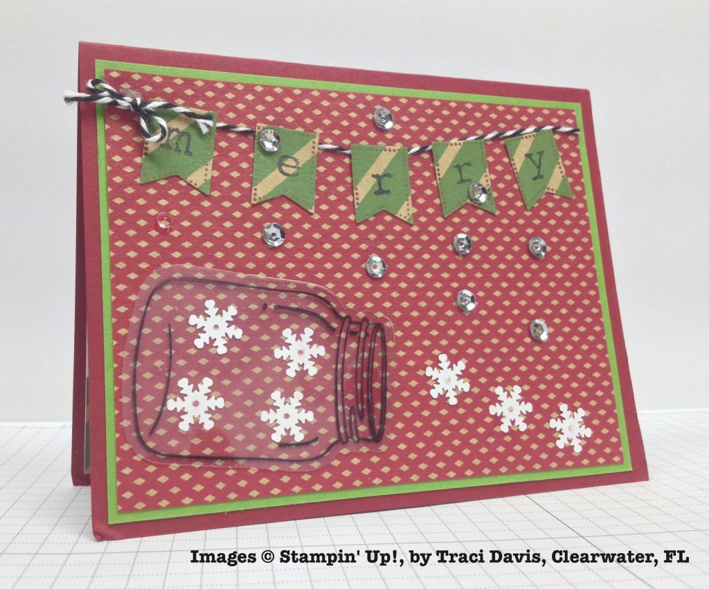 Holiday One-for-One Swap, Stampin' Up!, by Traci Davis