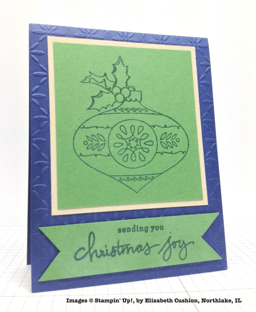 Holiday One-for-One Swap, Stampin' Up!, by Elizabeth Cushion