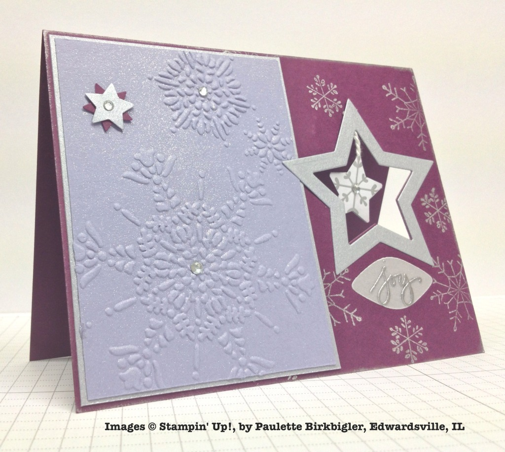 Holiday One-for-One Swap, Stampin' Up!, by Paulette Birkbigler