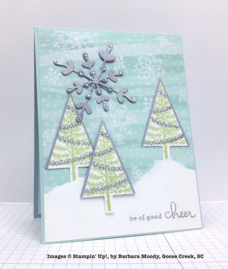 Holiday One-for-One Swap, Stampin' Up!, by Barbara Moody