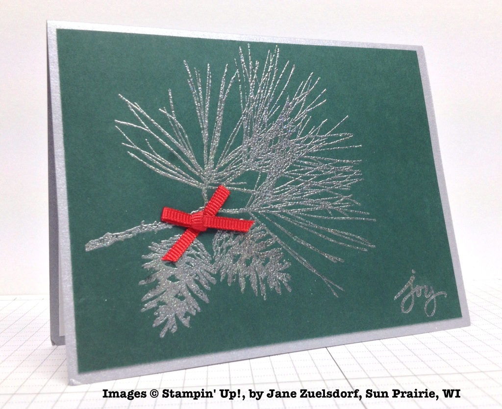 Holiday One-for-One Swap, Stampin' Up!, by Jane Zuelsdorf
