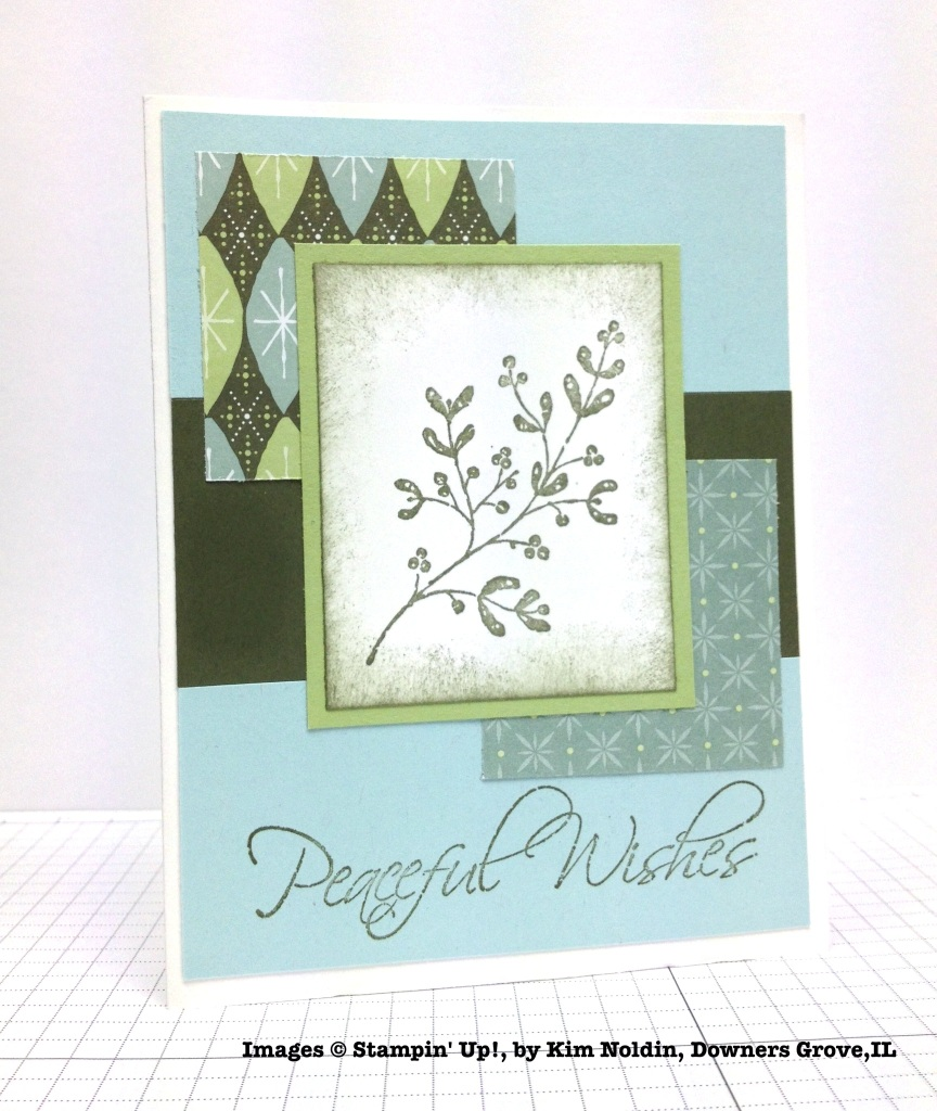 Holiday One-for-One Swap, Stampin' Up!, by Kim Noldin