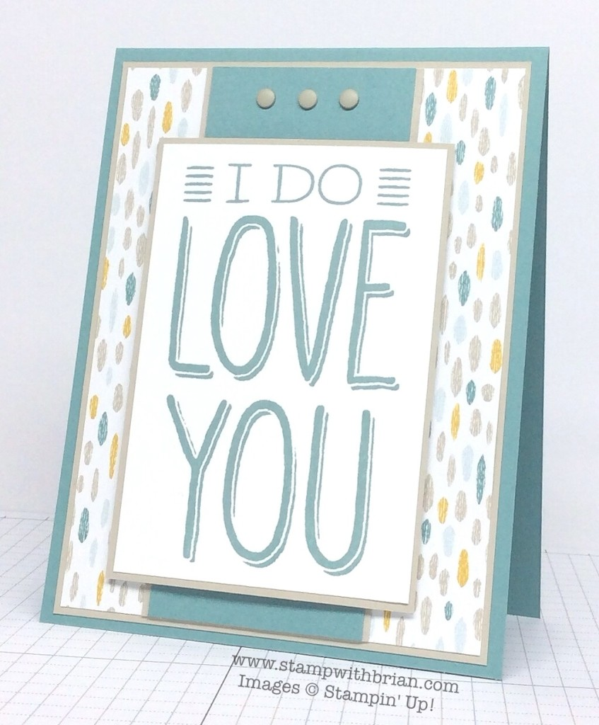 Big on You, Stampin' Up!, Brian King