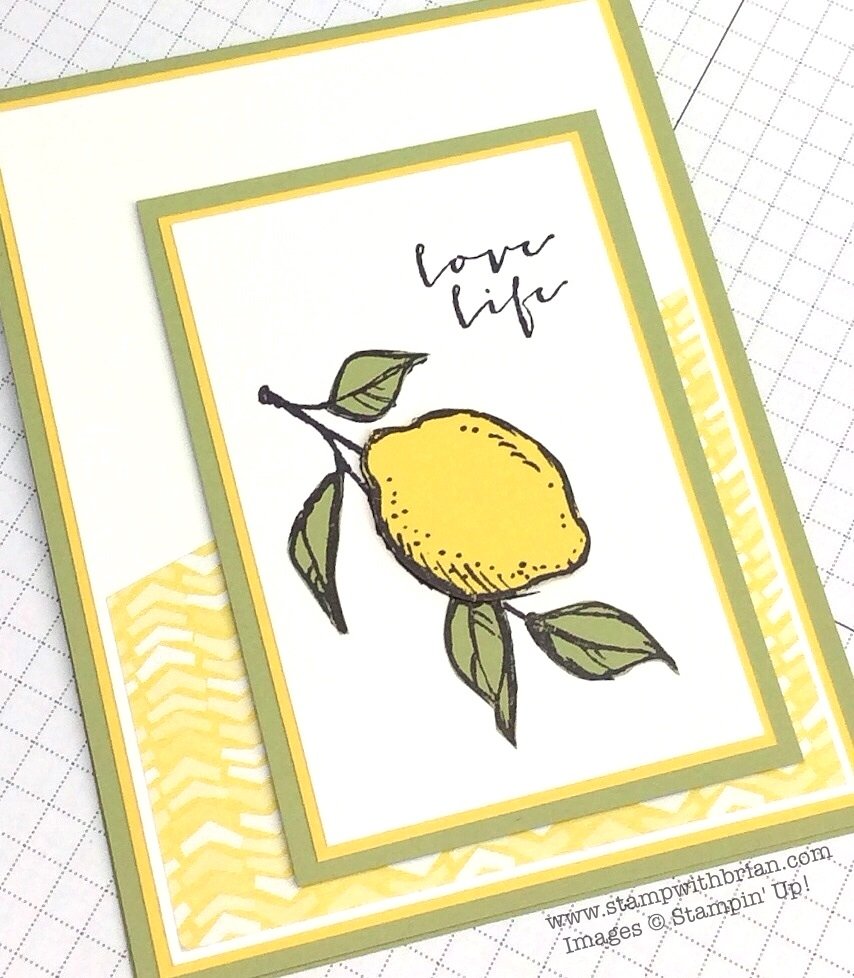 A Happy Thing, Stampin' Up!, Brian King