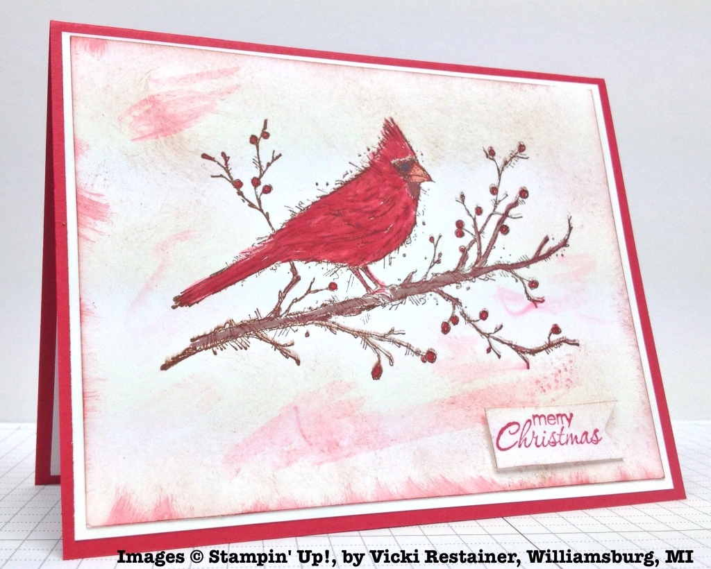 Holiday One-for-One Swap, Stampin' Up!, by Vicki Restainer